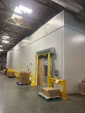 Commercial Refrigeration walk in cooler installed in San Francisco